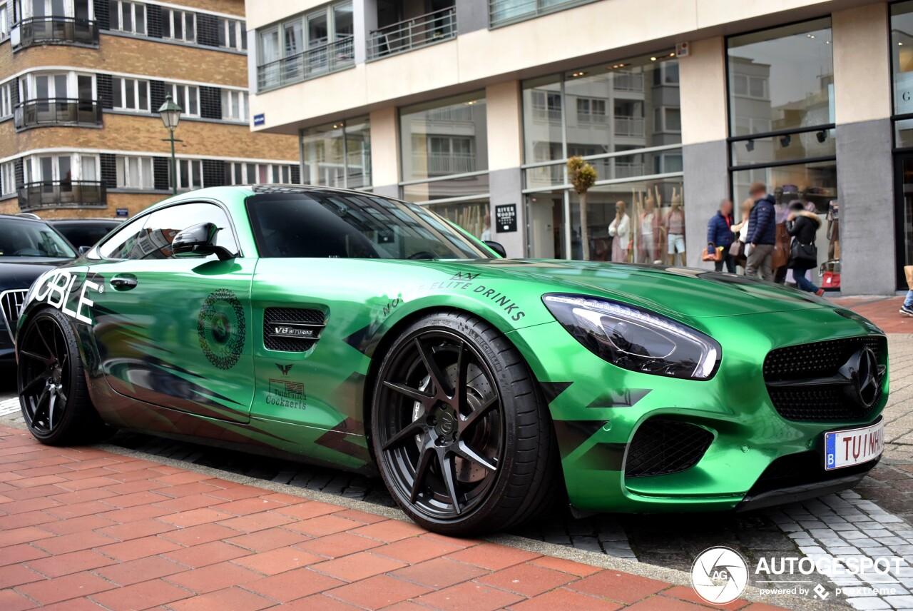 Mercedes-AMG GT is opvallend reclamebord