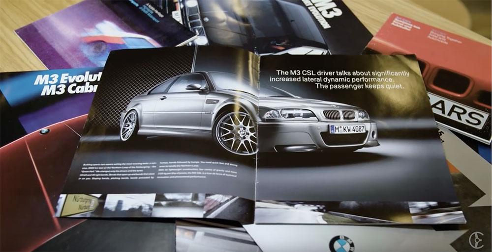 Filmpje: de BMW M3 CSL nog eens aan de tand gevoeld