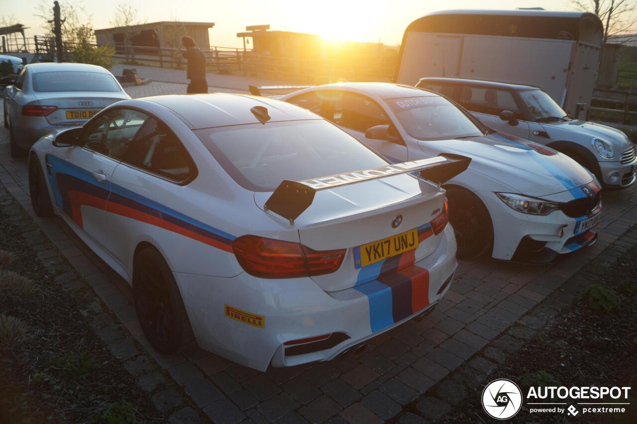 Heeft de BMW M4 een spoiler nodig?