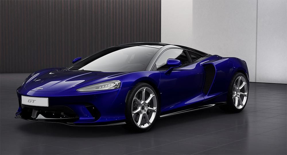 McLaren laat je nu al met de nieuwe GT spelen in de configurator