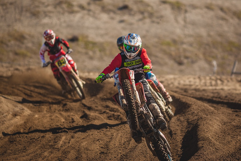 Body gear and other essential dirt bike gears that ace riders require
