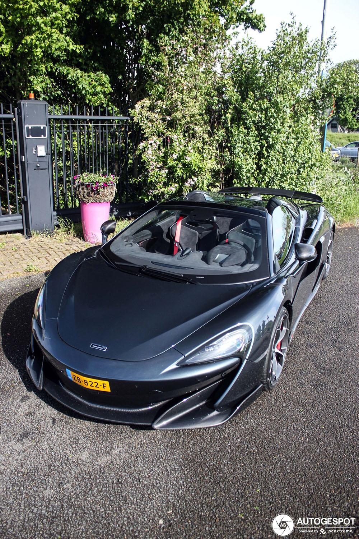Spot van de dag: McLaren 600LT Spider