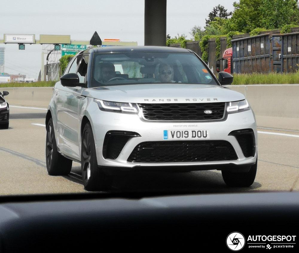 Range Rover Velar SVAutobiography eindelijk gespot