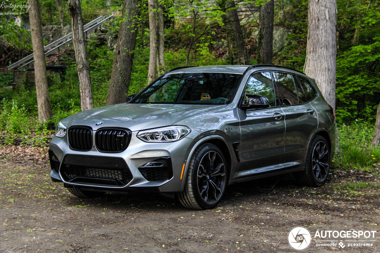 Primeurtje: BMW X3 M Competition gespot in Amerika