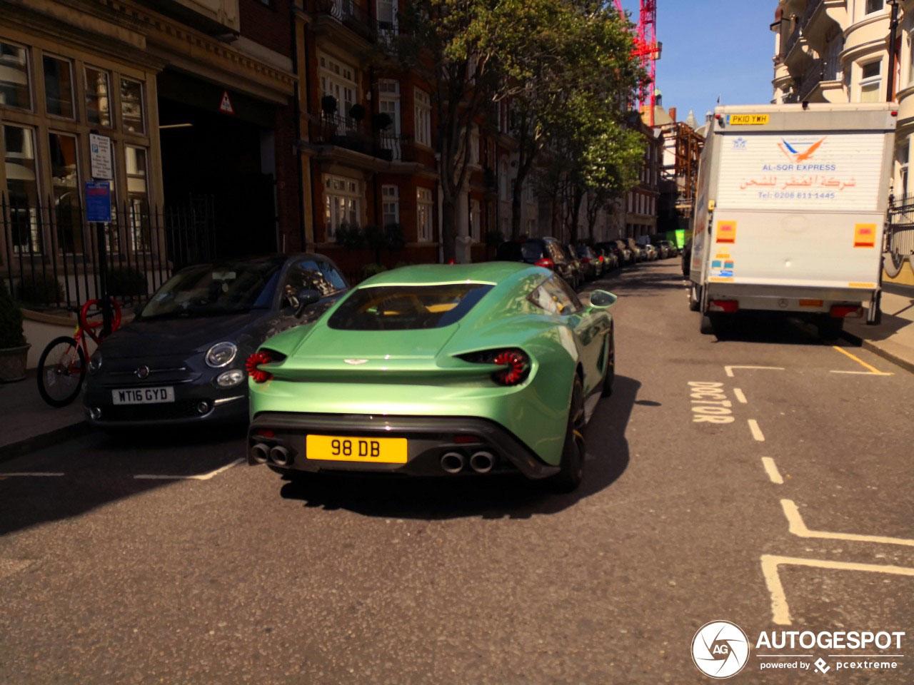 Wordt Londen de Aston Martin Vanquish Zagato stad?