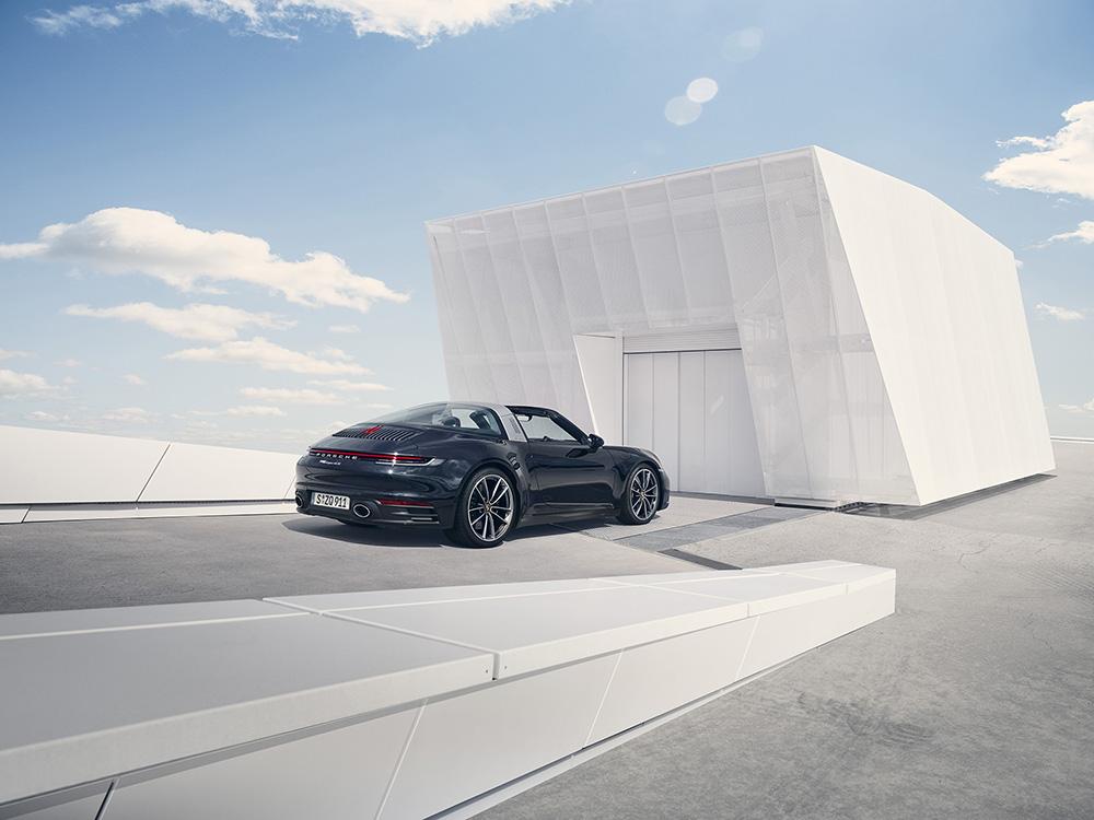 Porsche brengt ons deze zomer de 992 Targa!