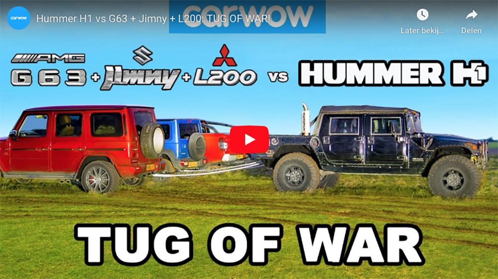 Movie: Ultimate tug of war!
