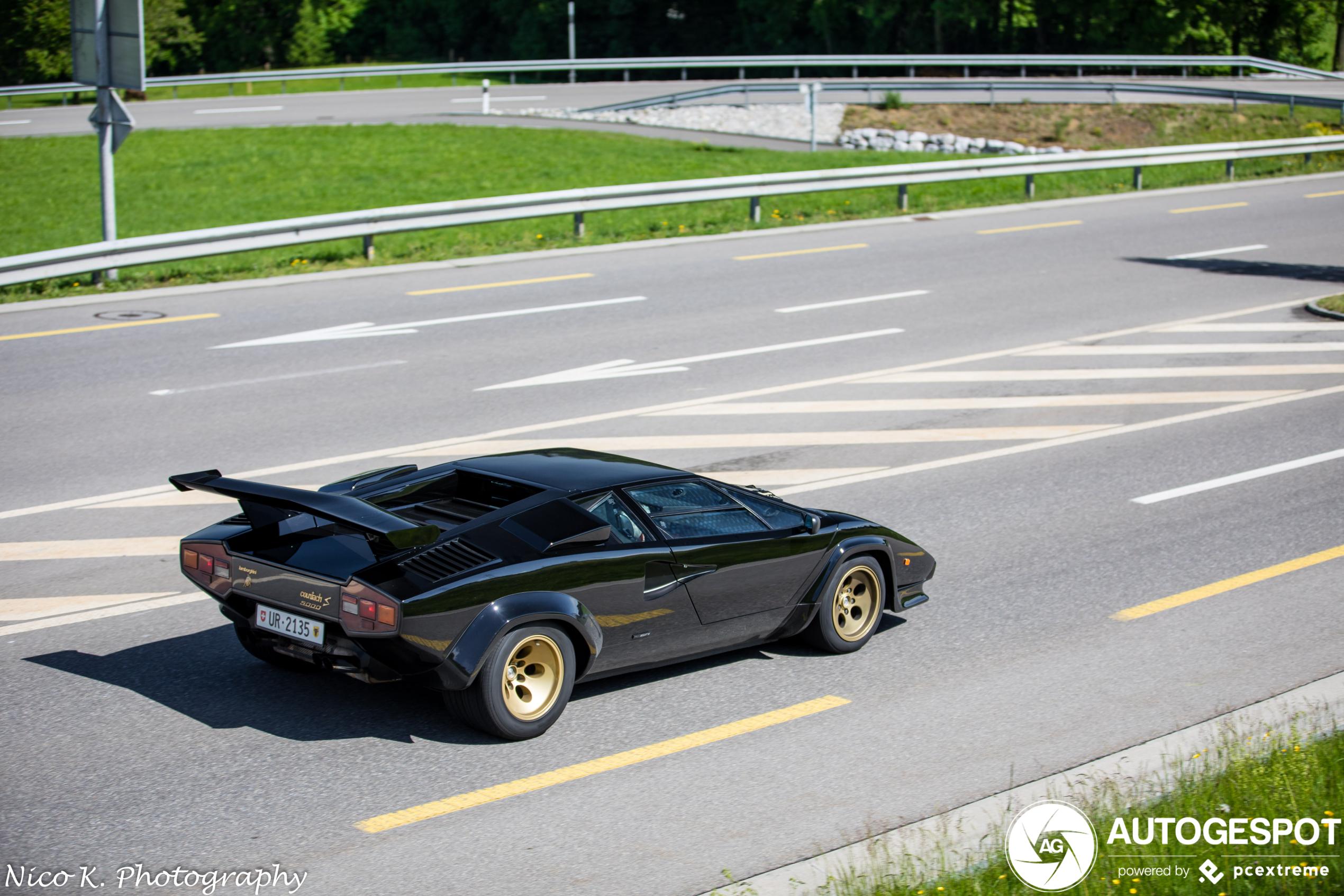 Zwarte Lamborghini Countach blijft voor velen een droom