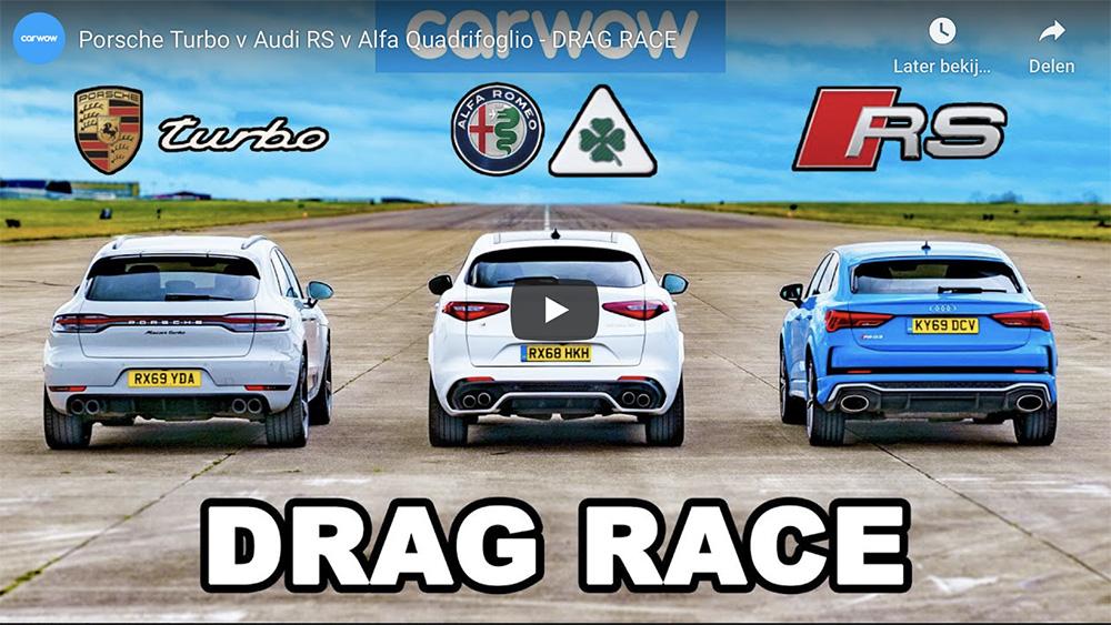Filmpje: Porsche Macan mag het opnemen tegen zijn concurrenten