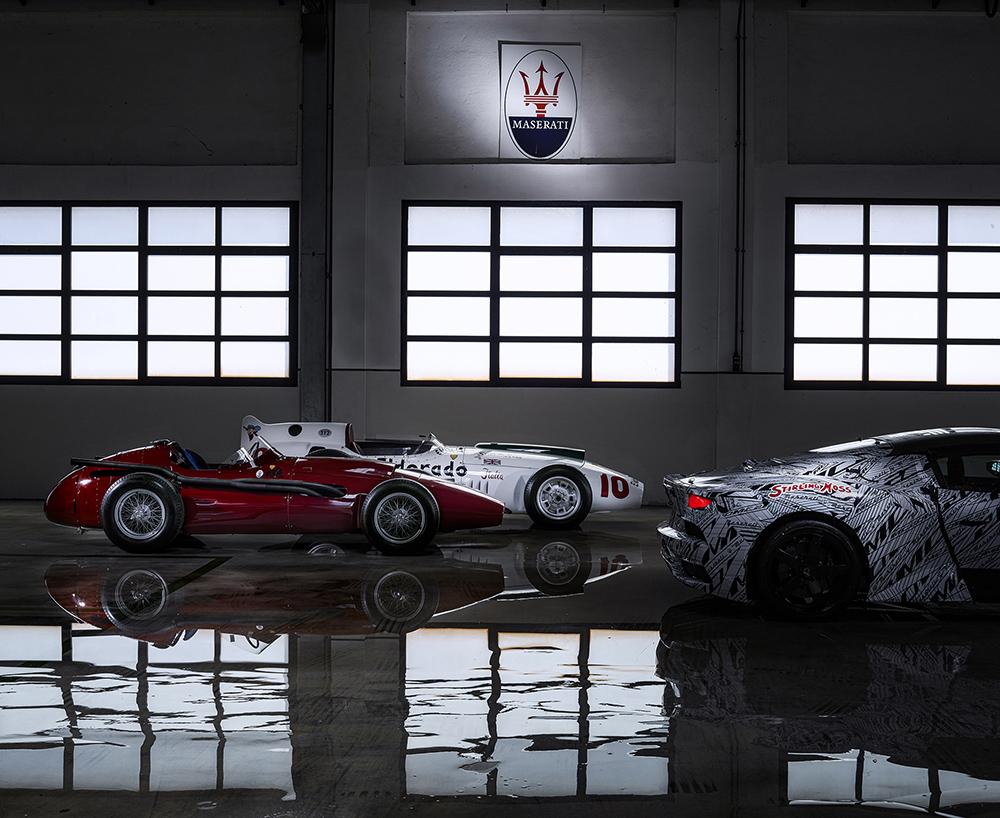 Maserati eert Stirling Moss met speciaal prototype van de MC20