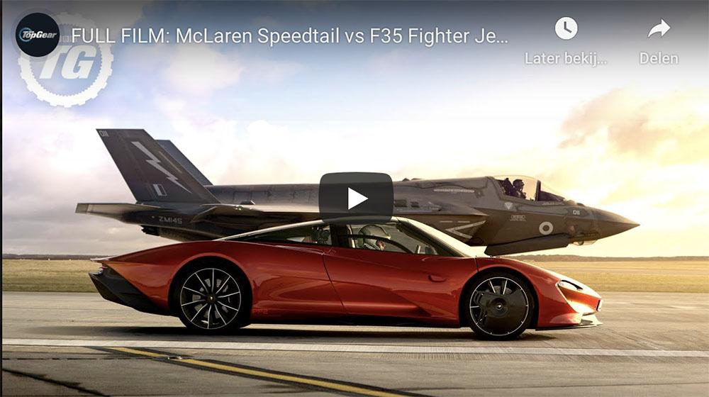 Top Gear zet weer prachtig filmpje neer met McLaren Speedtail