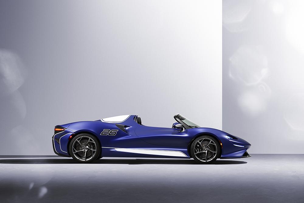 McLaren Elva met ruit is voor watjes
