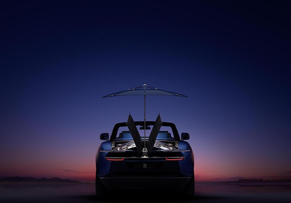 Rolls-Roye gooit hoge ogen met Boat Tail, ongekende luxe