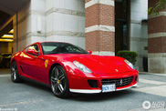 Besonderes Modell anhand des Exterieur gespottet: Ferrari 599 GTB 60F1