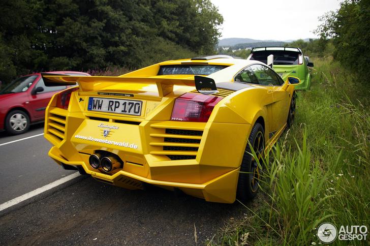 Fairly overdone: Lamborghini Gallardo L-L-Z Design