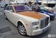 Stylish colour combination on a Rolls-Royce Phantom