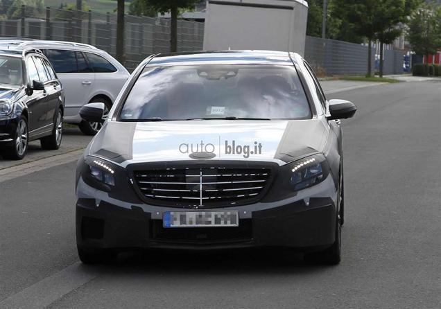 Hij wordt lekker: Mercedes-Benz S-Klasse AMG