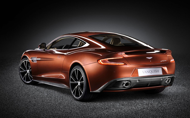 Aston Martins nieuwe held: de Vanquish