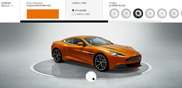 Time left? Configure your own Aston Martin Vanquish!