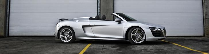 Photoshoot: Audi R8 V10 Spyder