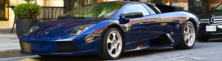 Spotted: Lamborghini Murciélago in Blue Hera