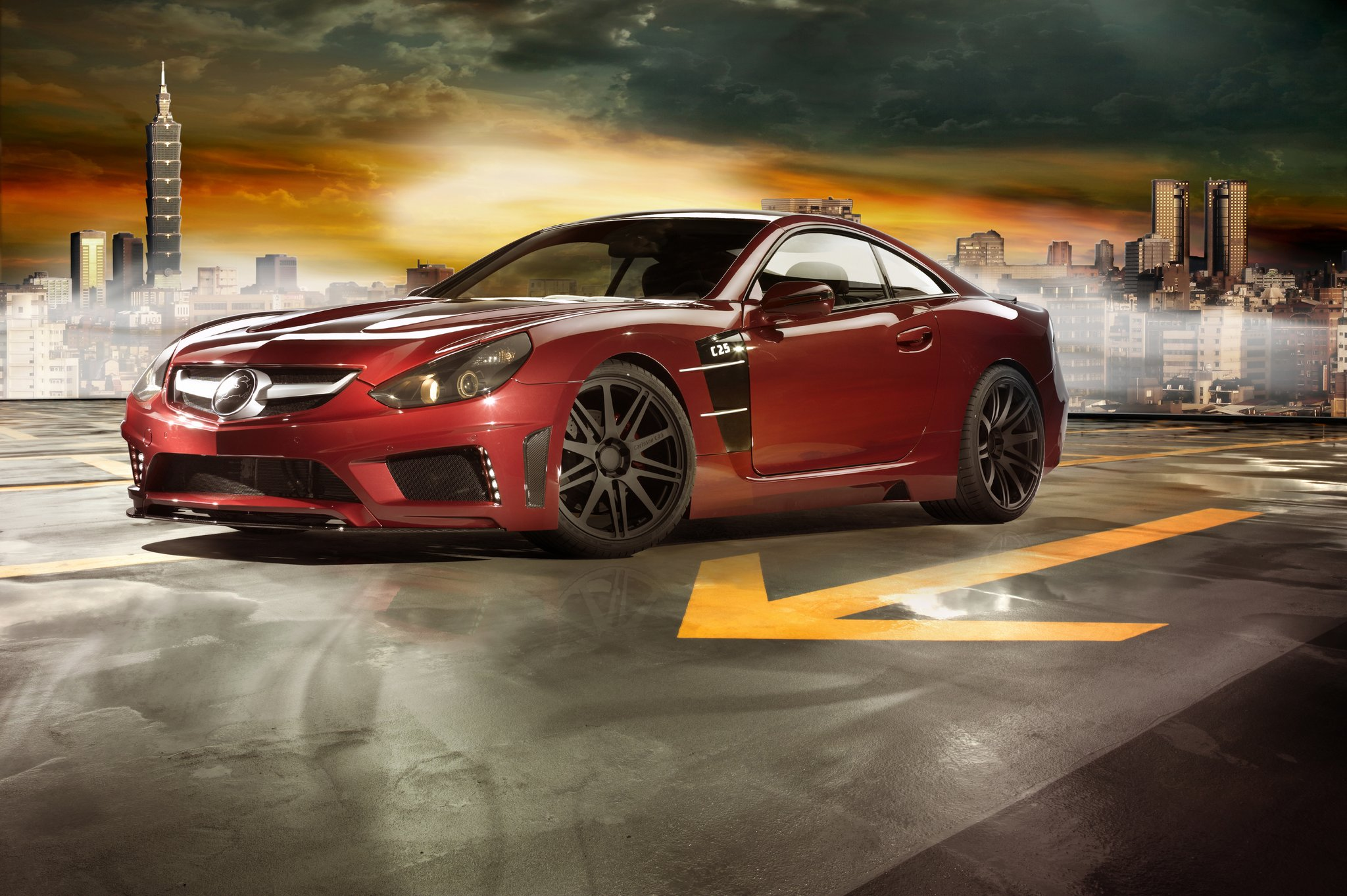Carlsson C25 China Limited Edition : slechts zeven keer