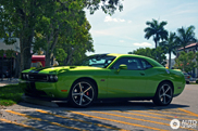Green and poisonous: Dodge Challenger SRT-8 392