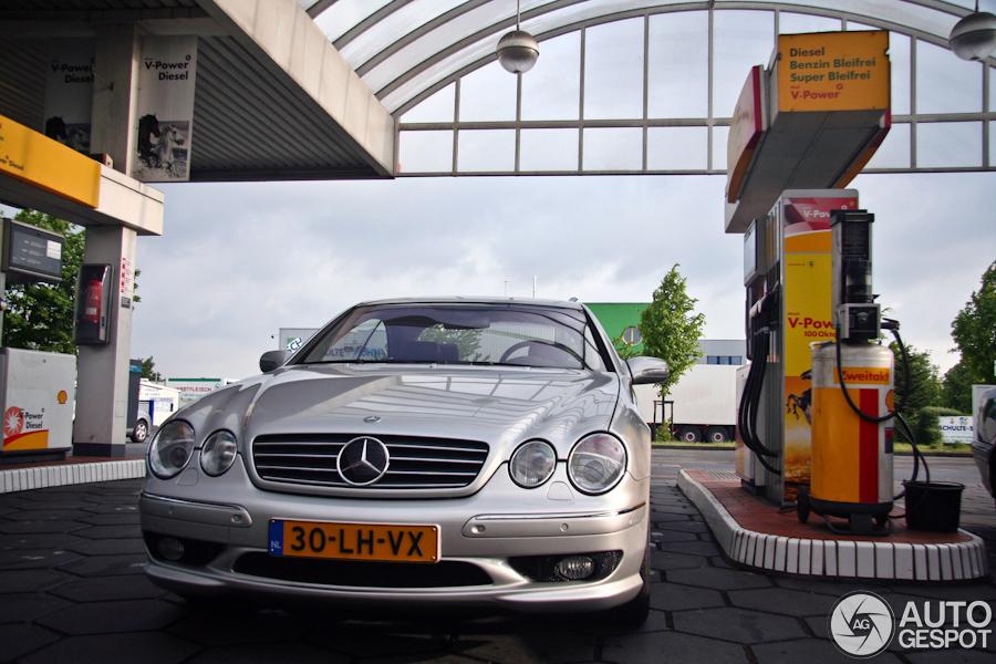 Verslag: met een unieke Mercedes-Benz CL 63 AMG C215 naar AMG