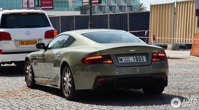 Brute beauty: Aston Martin Mansory DB9