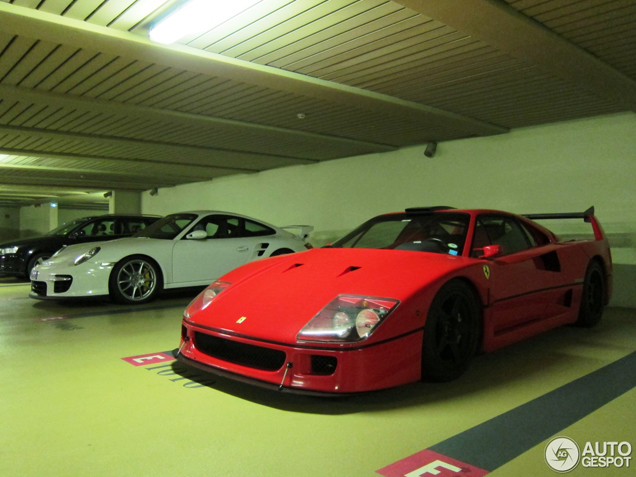 Tweede opper-F40 is gespot: Ferrari F40 LM Michelotto