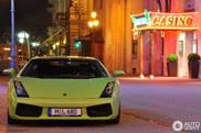 Sparkling color spotted on a Lamborghini Gallardo!