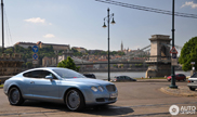 Bentley Continental GT on strange rims!