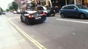 """Movie: Arabic Nissan GTR """"powerslide"""" in London!"""