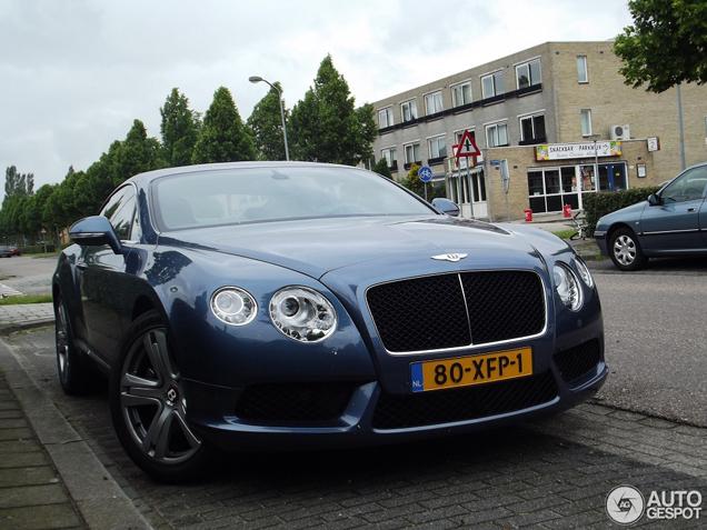 Gespot in Nederland: de nieuwe Bentley Continental GT V8