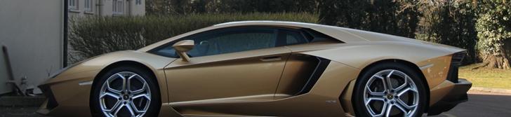 Timeless: Lamborghini Aventador LP700-4 in Oro Elios
