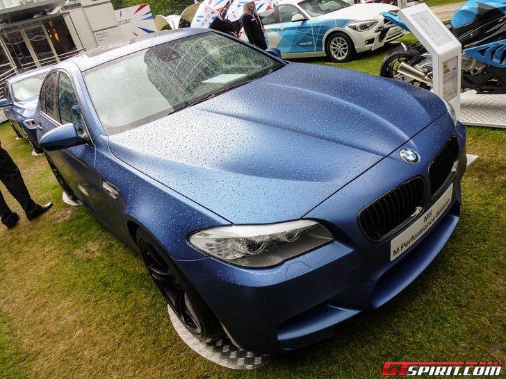Actiemodelletje voor Engeland: BMW M5 M Performance Edition op Motor Expo 2012!