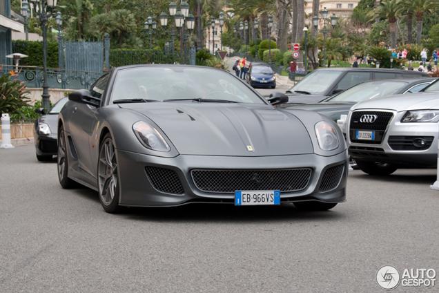 spotted matte colours part 118 - Matte Black Ferrari 599