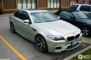 Gespottet: BMW M5 F10 in Amazonite Silver Metallic