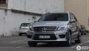 Right on time: the new Mercedes-Benz ML 63 AMG is spotted!