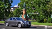 Bentley Mulsanne captured beautifully in Budapest
