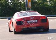 Elektrischer Audi R8 e-tron am Nürburgring gespottet