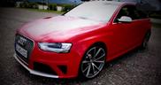 Movie: Audi RS4 Avant sprints to 155 mph