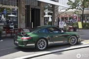 Beautiful in green: Porsche 997 GT3 RS 4.0