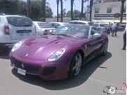 Spotted in Casablanca: rare Ferrari SA Aperta