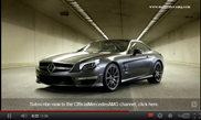 Filmpje: Mercedes-Benz SL 65 AMG 45th Anniversary Edition