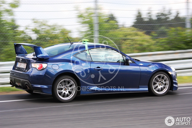 Spyspot Toyota Gt86 With Aeropack
