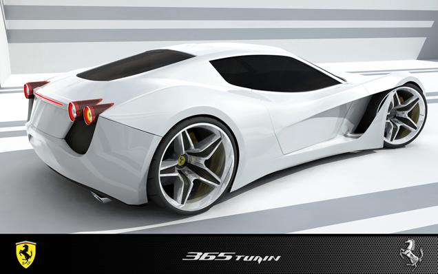 Leuk voor in de toekomst: Ferrari 365 Turin Design