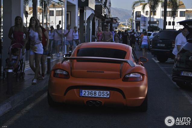 Matoranje bommetje gespot: Porsche Cayman Techart GT Widebody