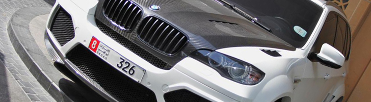Imposing SUV by Mansory spotted: BMW X5 M