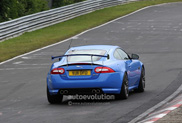 Lost some weight: Faster Jaguar XKR-S